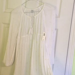NWT Old Navy peasant style dress